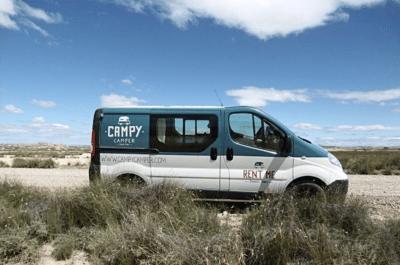 Location de van aménagé Campy Camper au Pays basque