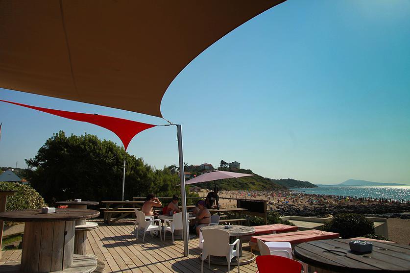 Restaurant vue mer Bela Gori à Bidart au Pays basque.