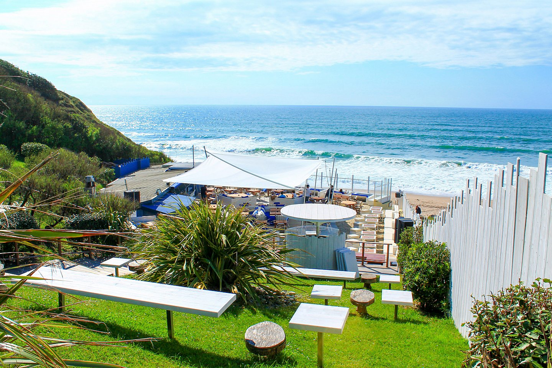 Restaurant Blue Cargo à Biarritz vue mer au Pays basque.