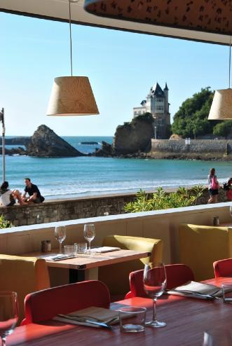 restaurants vue mer au pays basque. Black Bedroom Furniture Sets. Home Design Ideas