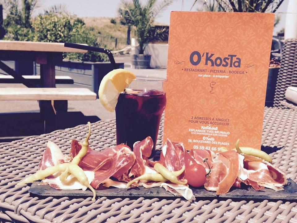 Restaurant Kostaldea à Anglet vue mer au Pays basque.