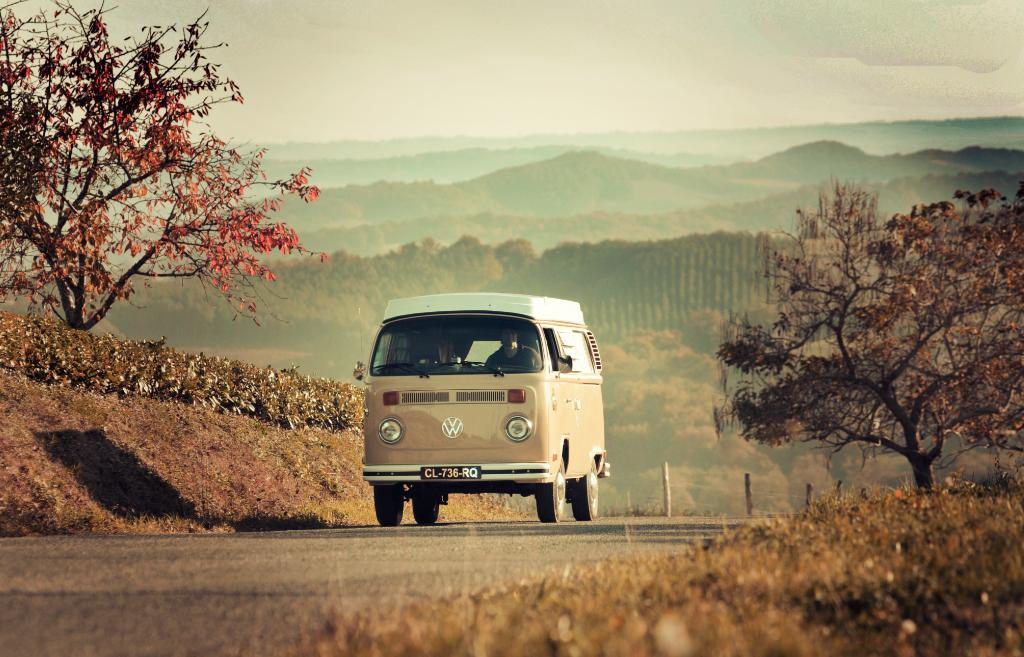 Road trip en combi VW