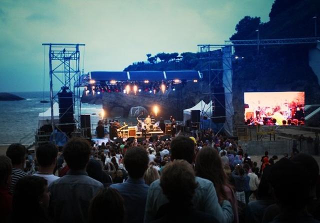 Mesparrow et Citizens en concert du Roxy Pro 2013