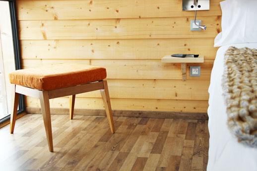 Chambre de l'hotel Pourtalet vue sur l'Ossau