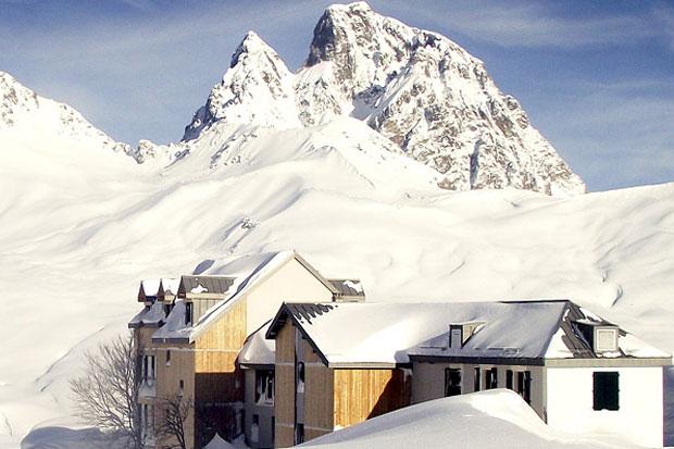 L'hôtel du Pourtalet au pied de la vallée d'Ossau