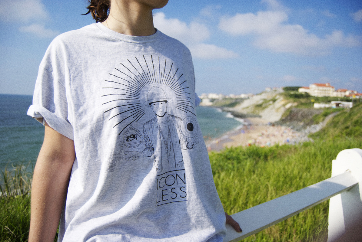 Iconless, t-shirts d'icônes pop culture