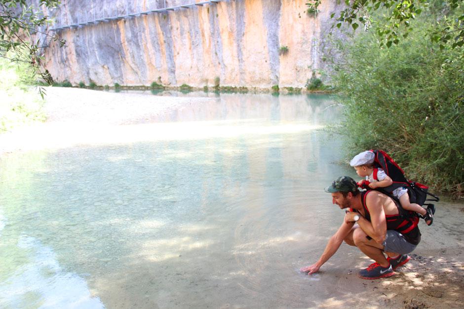 L'eau fraîche du Rio Vero