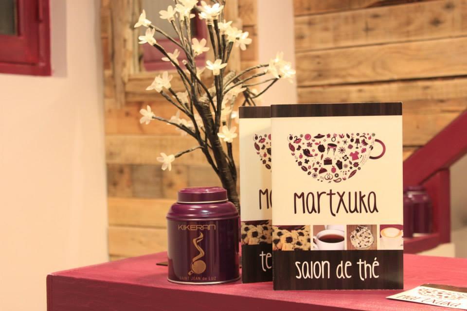 Martxuka, créations artisanales et salon de thé