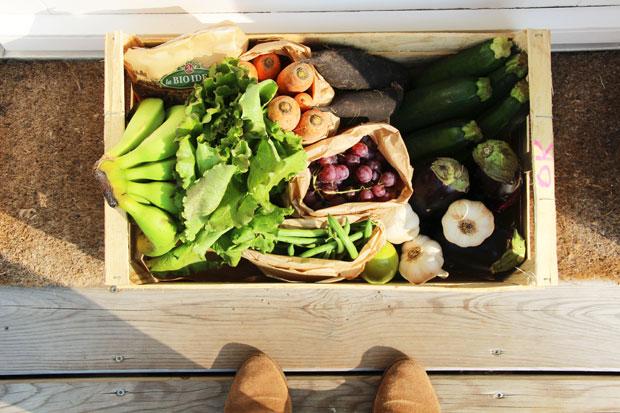 Commander son panier de fruits et légumes