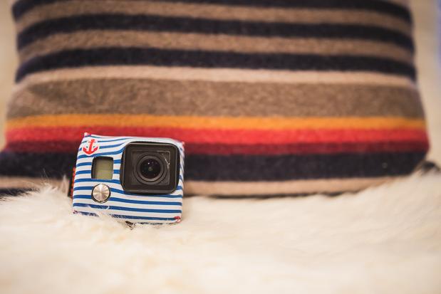 Housse neoprene Tuxsedo pour camera GoPro développé par XSories.