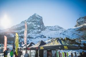 N'py Cup Gourette événement pyrénées avec le banked slalom.