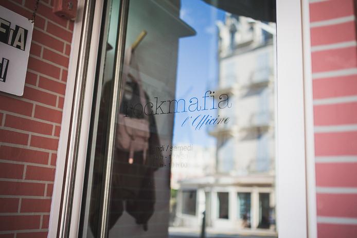 Rockmafia l'Officine, nouvelle boutique de sacs à Biarritz.