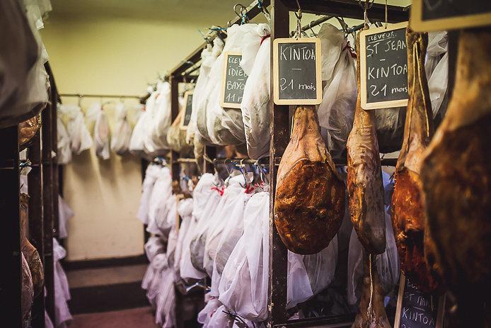 Séchoir du jambon Aubard et Kintoa à Bayonne