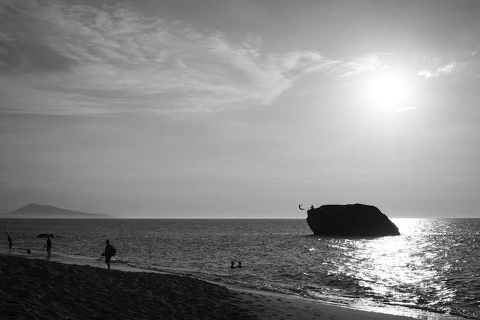 Rocher Biarritz photographié par le photographe Mat Hemon.