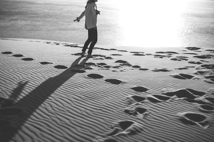 Dune dans les Landes par Céline Hamelin