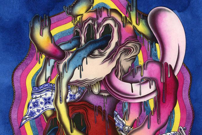 Oeuvre Tyler Durden de l'artiste Nicolas Leborgne alias Durden