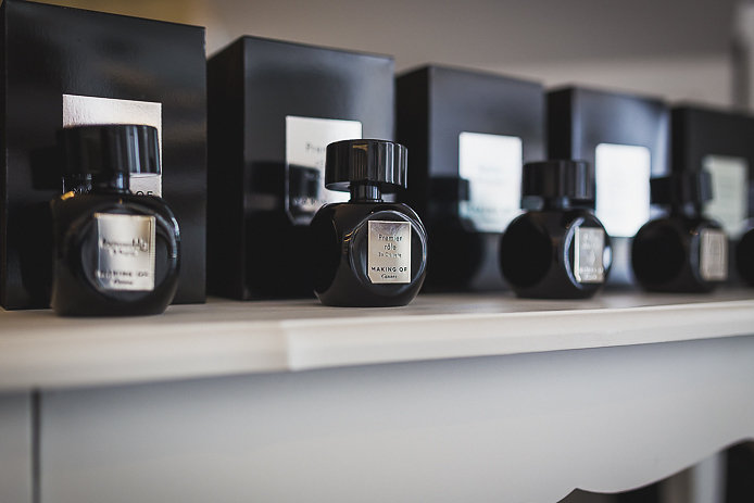 Parfums Making Of inspirés du cinéma en vente chez Pure Essence Biarritz.