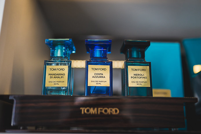 Parfums Tom Ford collection privée en vente chez Pure Essence à Biarritz.