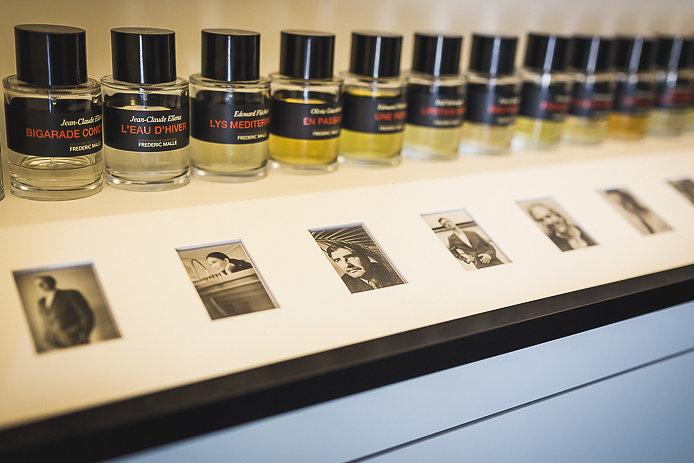 Editeur de parfums Frédéric Malle en vente chez Pure Essence à Biarritz.