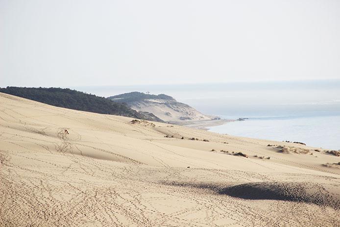 La Dune du Pyla sur le bassin d'Arcachon
