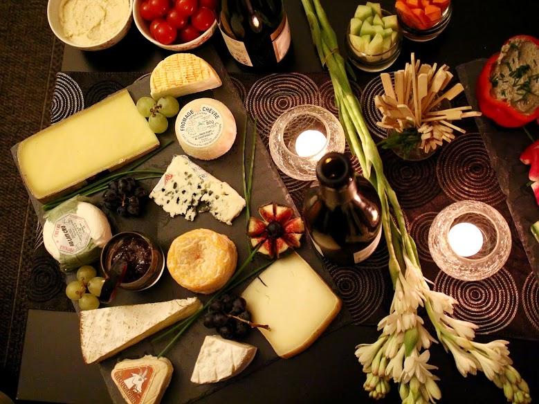 Plateau de fromage chez l'habitant avec le site VizEat.