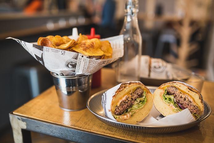 Comptoir Au Burger à Biarritz