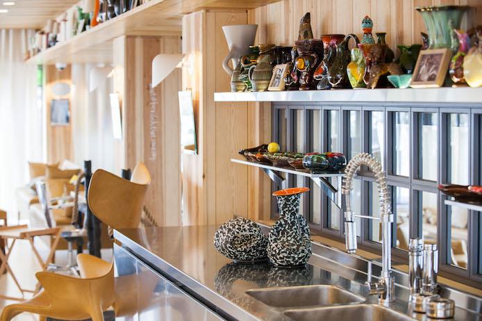 Décoration salon privée Philippe Starck La Coorinche Pyla sur Mer.