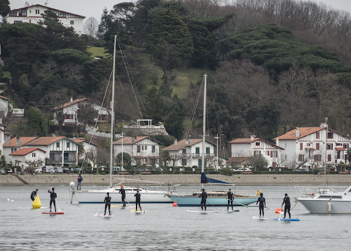 Stand-Up Paddle sur la baie de <a href='' style='text-decoration:none;color:#555;'></noscript><p class=