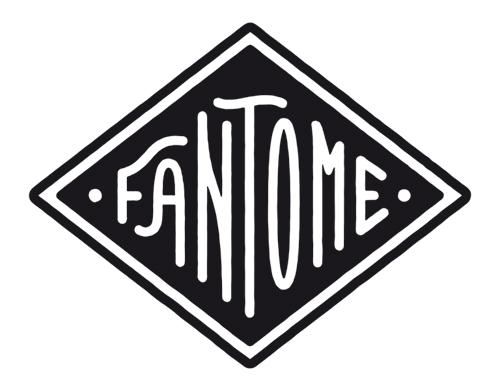 logo de la marque de sacs et accessoires Fantome.