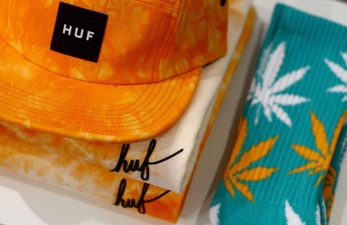 Produits Huf en vente au concept store Helder à Biarritz.