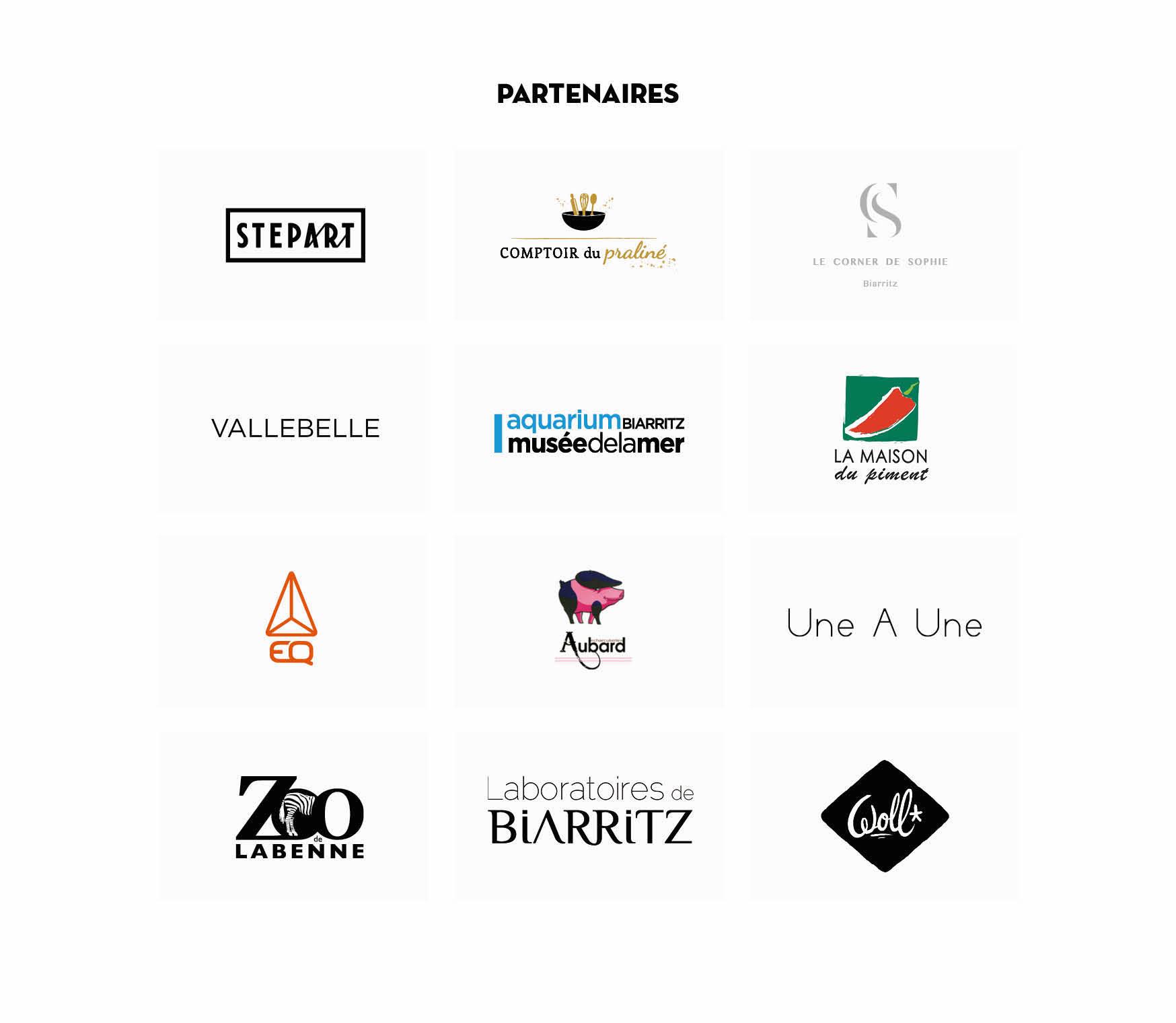 Les marques partenaires de la première édition de la Kinda Box par Kinda Break.