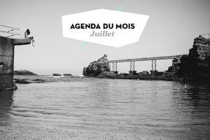 Agenda du mois de juillet 2015 dans les Landes et au Pays basque.