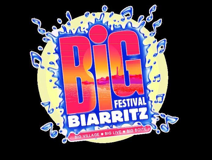 logo Big Festival Biarritz 2015 juillet