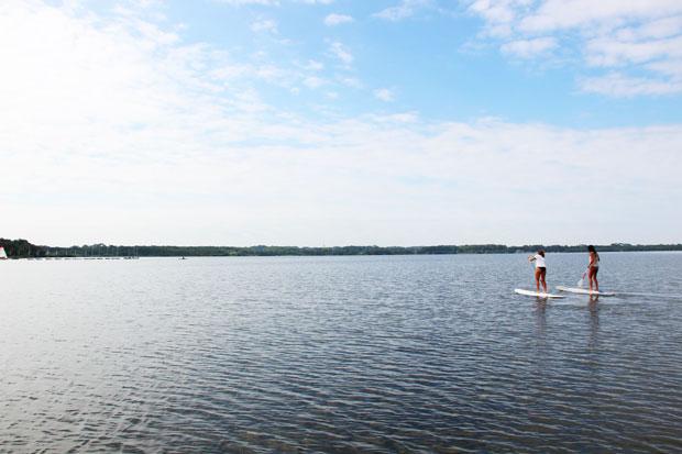 Lac de Vieux Boucau.
