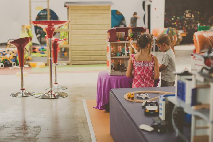 Playmobil du parc de jeux pour enfants Grenadine & Crayonnade à Anglet.