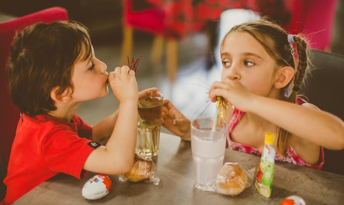 Les grenadines du goûter du parc pour enfants Grenadine et Crayonnade à Anglet.