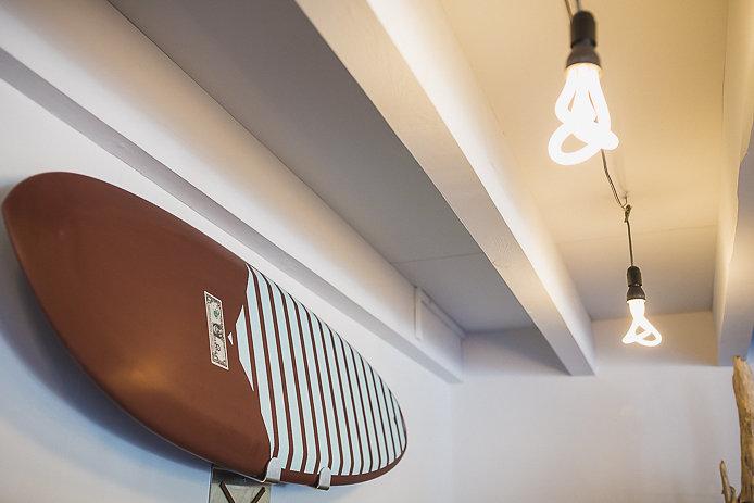 Planches de surf en vente chez Woll Beer à Soorts Hossegor.