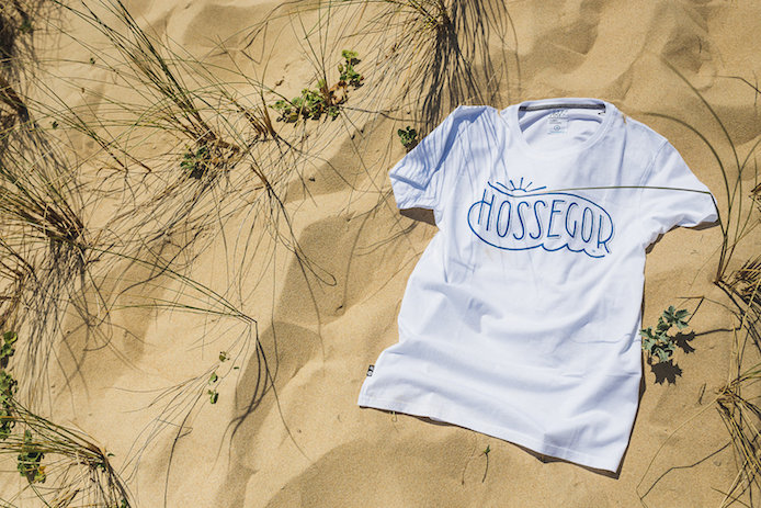 tee-shirt Stepart pour la ville d'Hossegor dans la Kinda Box de Kinda Break.