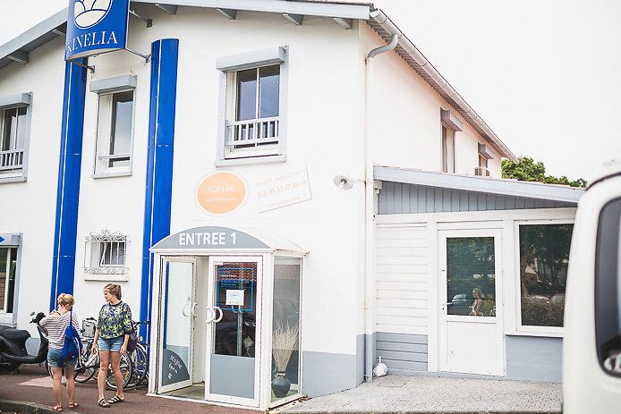 Bâtiment de l'école de français Sofi64 à Anglet.