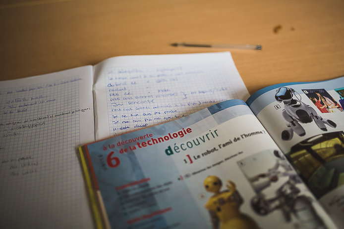 Cours et exercices de français des élèves de l'école Sofi64 à Anglet.