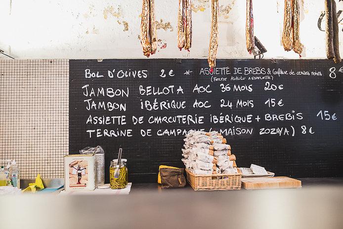 jambon ibérique Bellota en vente Chez renauld à St-Jean de Luz.