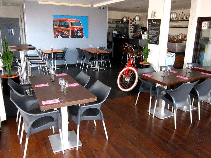 Restaurant Le Café Sud à Capbreton vue plage de la Sud.