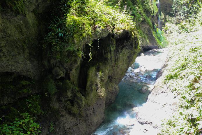 Gorges de Kakuetta au Pays basque.