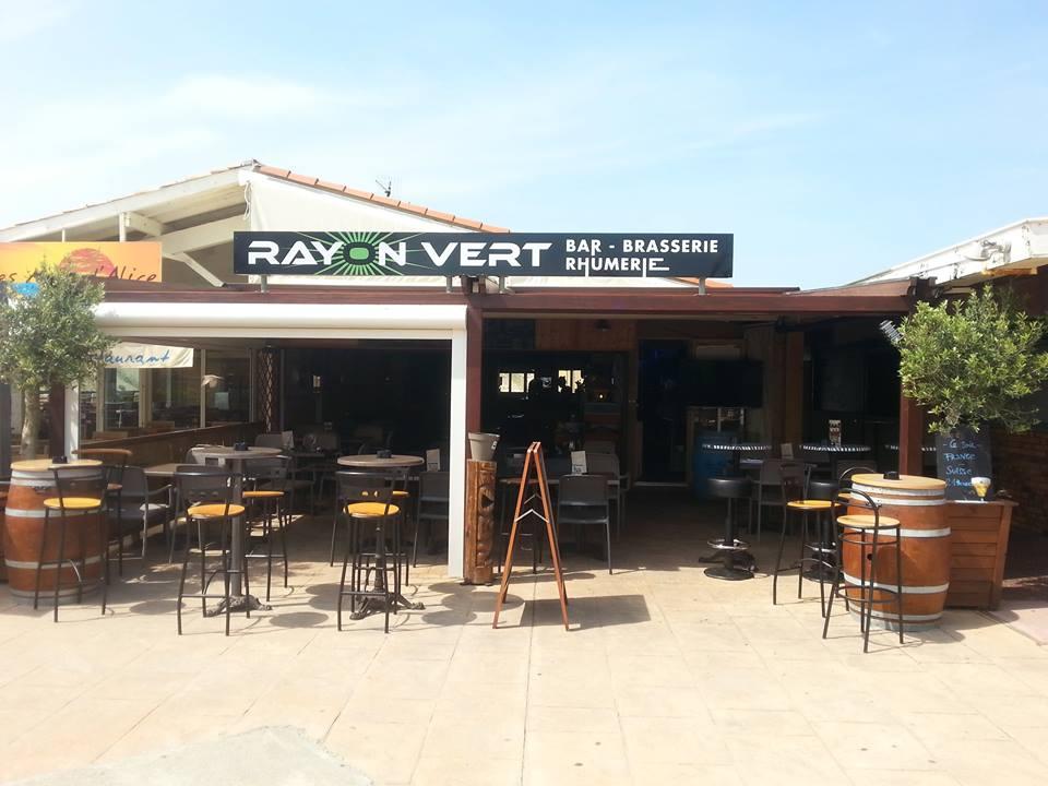 Restaurant le Rayon Vert à Seignosse Le Penon.