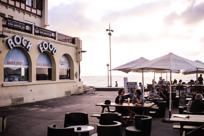 Restaurant Le Rock Food Plage Centrale Hossegor.