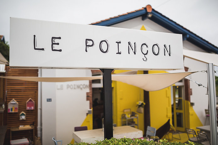 Le Poinçon restaurant gare de Guéthary.