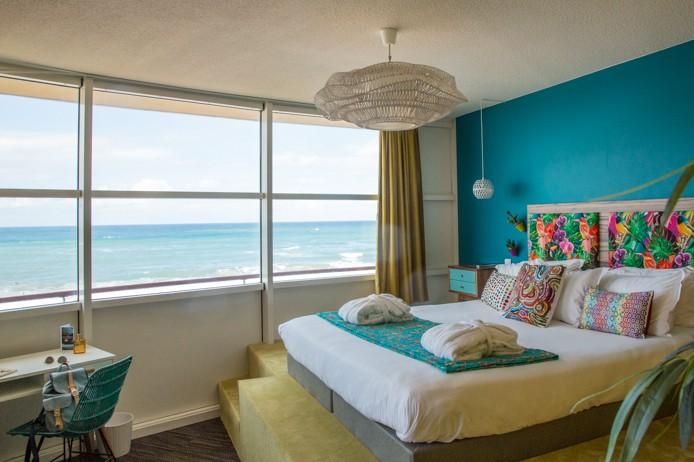 Chambre panoramique surf du Baya Hotel Capbreton
