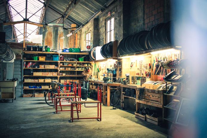 Réparation vélos chez Darwin à Bordeaux