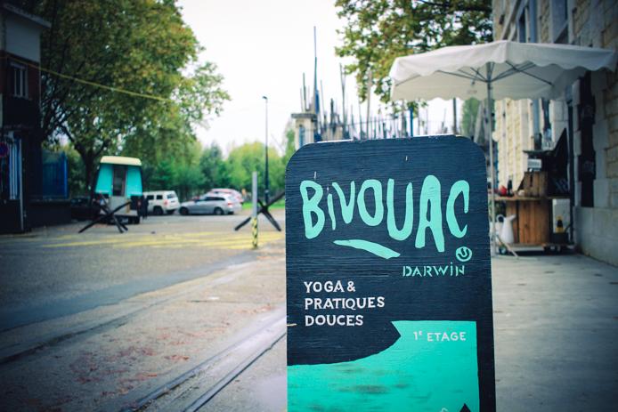 Bivouac sports doux à Darwin ecosysteme Caserne Niell Bordeaux Quai