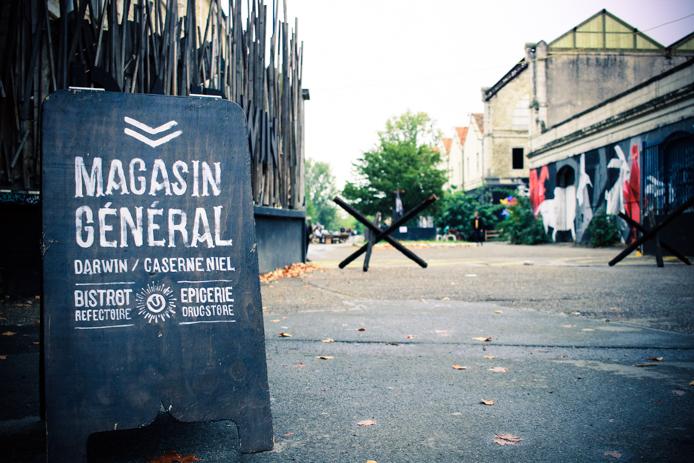 Darwin Eco systeme de la <a href='' style='text-decoration:none;color:#555;'>caserne Niel à</a> Bordeaux Rive droite.